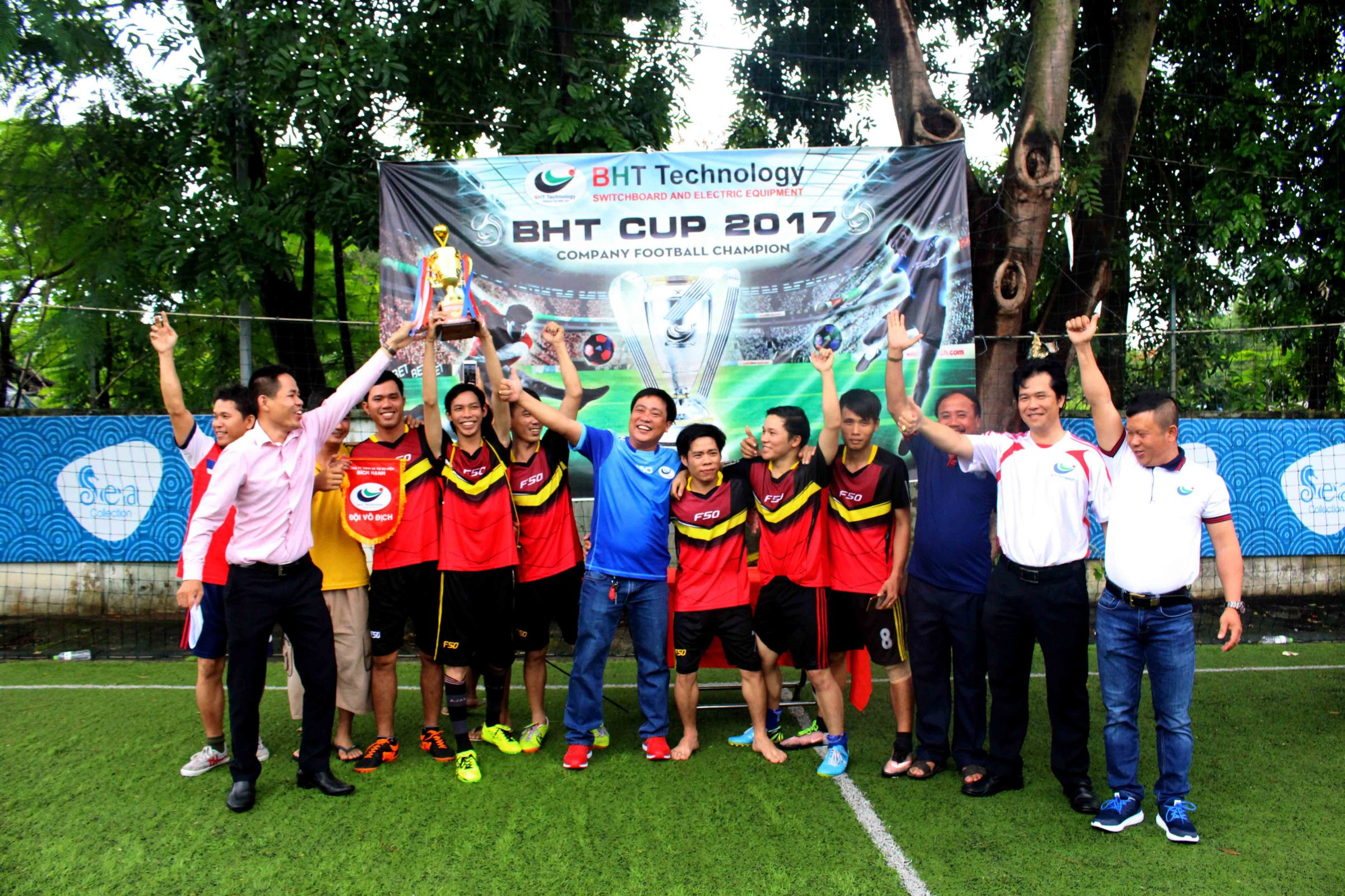 CLOSING CEREMONY FOOTBALL MATCH CUP BHT 2017